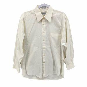 Christian Dior Button Up Dress Shirt Men's 16